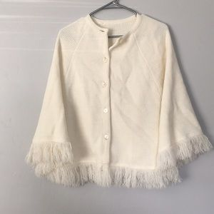 Vintage cape, cocoon, poncho, shrug.